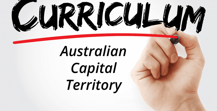Keyboarding and typing in the Australian Capital Territory (ACT) Curriculum