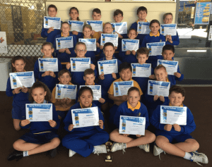 Typing Challenge winners - Star of the Sea Primary School
