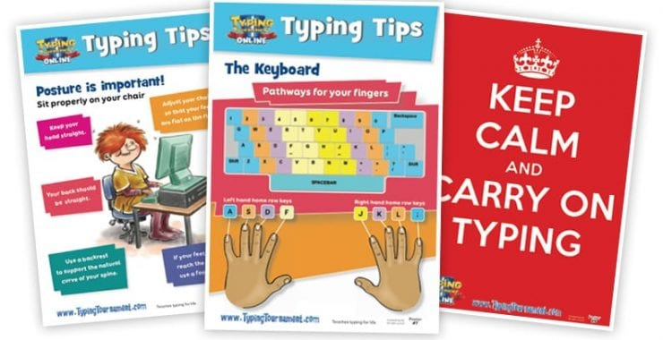 FREE Typing Tip Posters