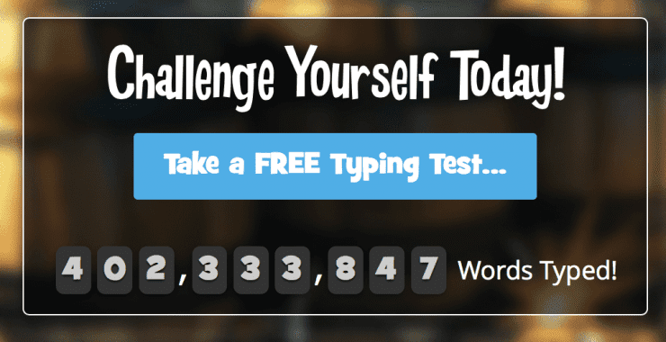 Typing Tournament Passes 400,000,000 words!