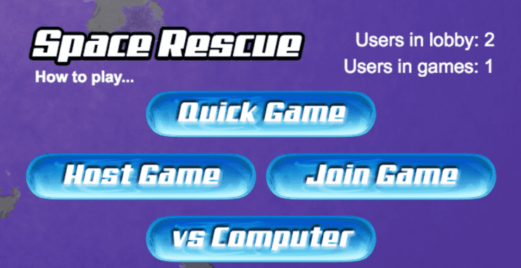 Save the day with Space Rescue!