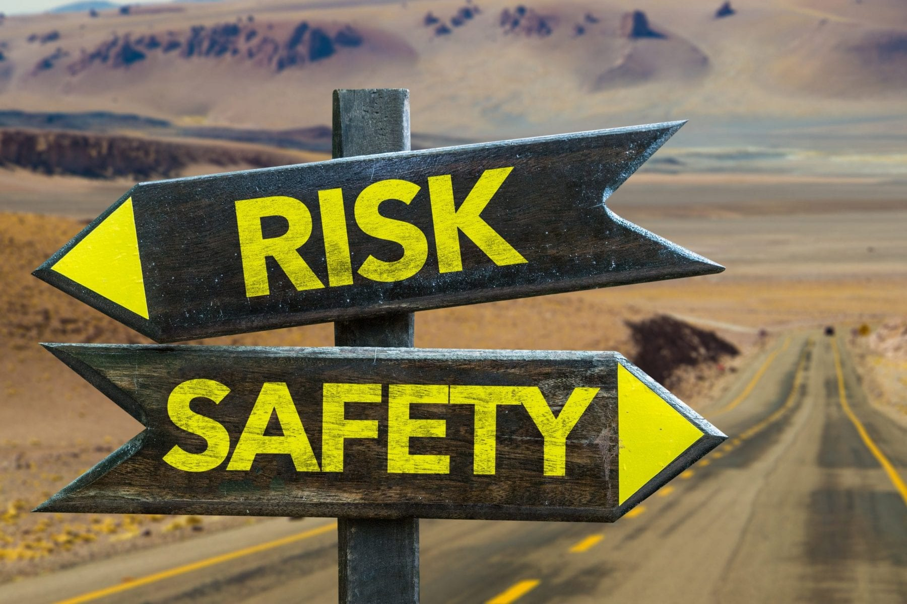 Risk and Safety signs
