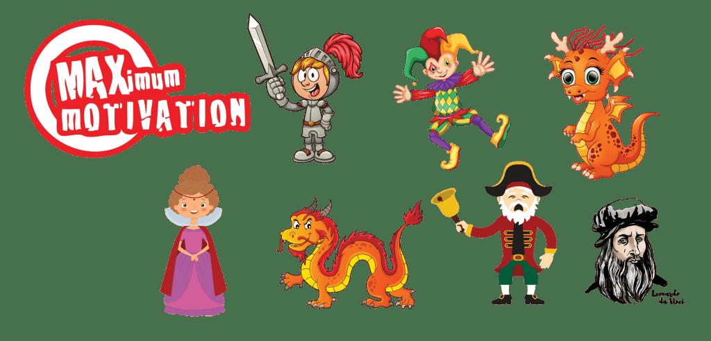 Baggin the Dragon Maths Achievement Characters.2