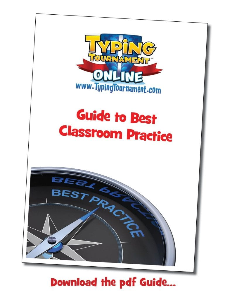 Typing Tournament Online Guide to Best Practice