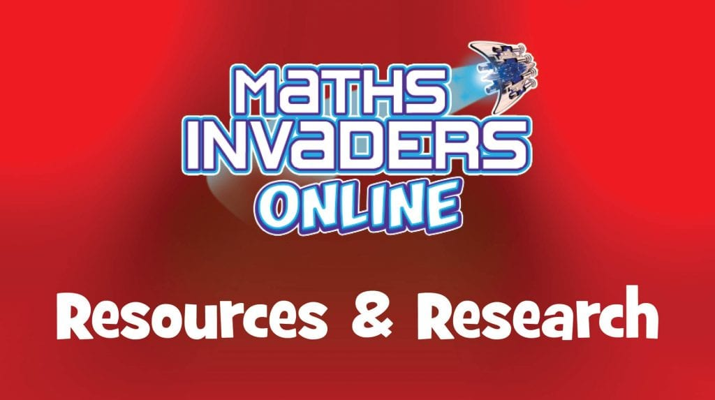 Maths Invaders Online Resources and Research