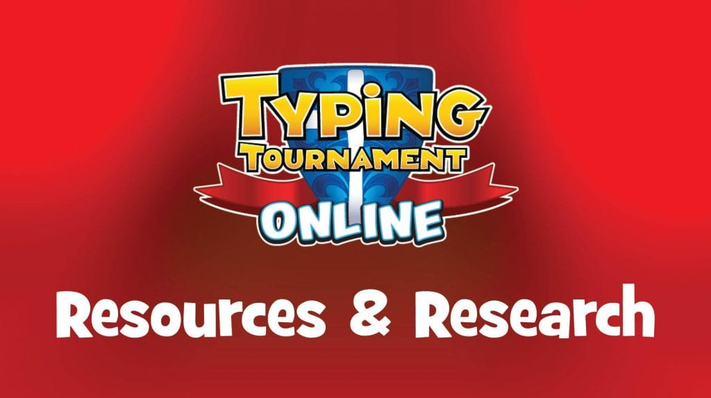 Typing Tournament Online Resources and Research