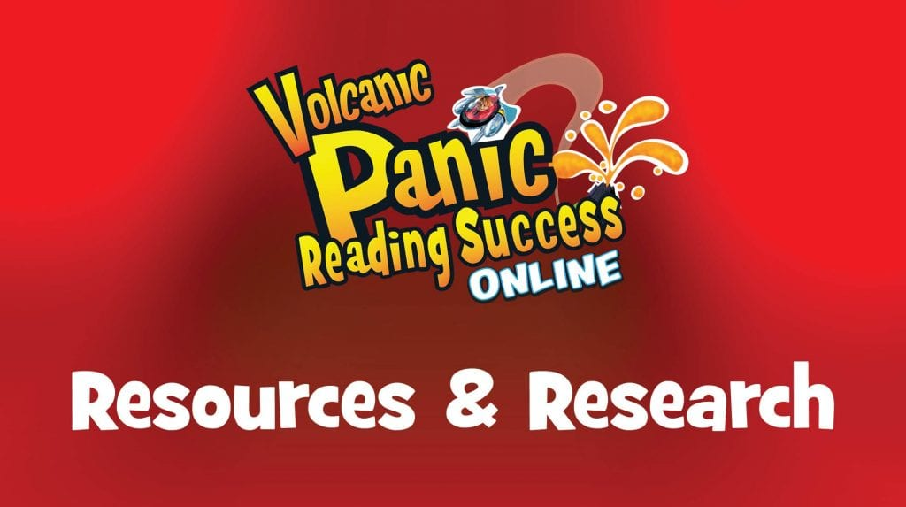 Volcanic Panic Reading Success Online Resources and Research