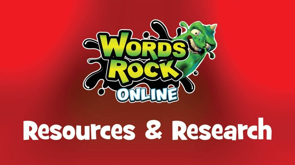 Words Rock Online Resources and Research