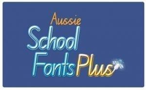 Aussie School Fonts Plus
