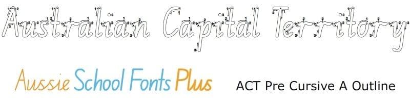 ACT-Foundation-Pre-Cursive-Arrow-Outline
