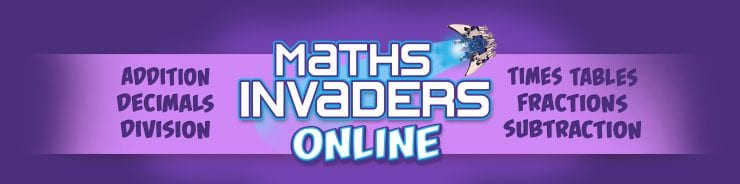 Boost kids' learning with Maths Invaders Online