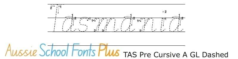 Tas-Modern-Cursive-Pre-Cursive-Arrow-Guide-Lined-Dashed
