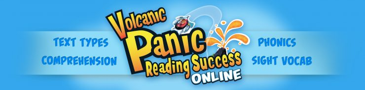 Boost kids' learning with Volcanic Panic Reading Success Online