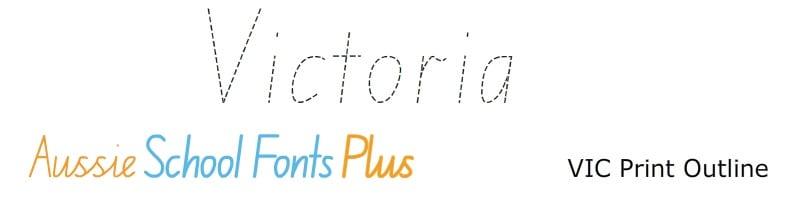 Vic-Modern-Cursive-Print-Outline