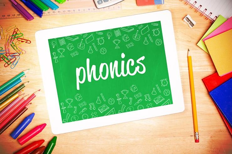 Phonics on an iPad