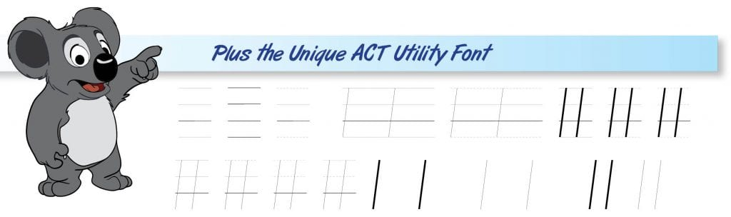 act utility font.1