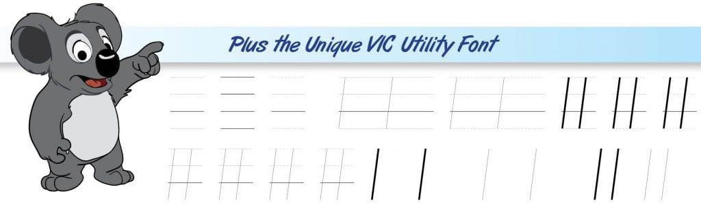 vic utility font.1