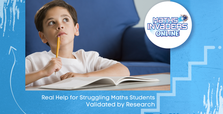 Real help for Struggling Maths Students – Validated by Research
